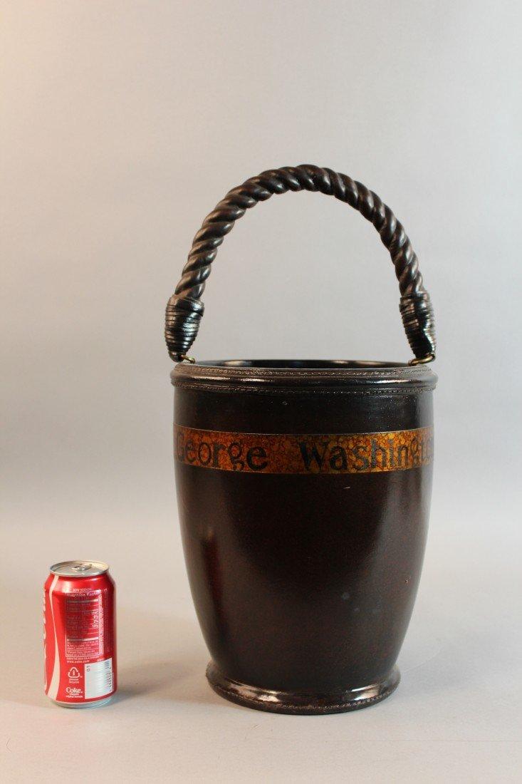 6: Leather Fire Bucket - 2