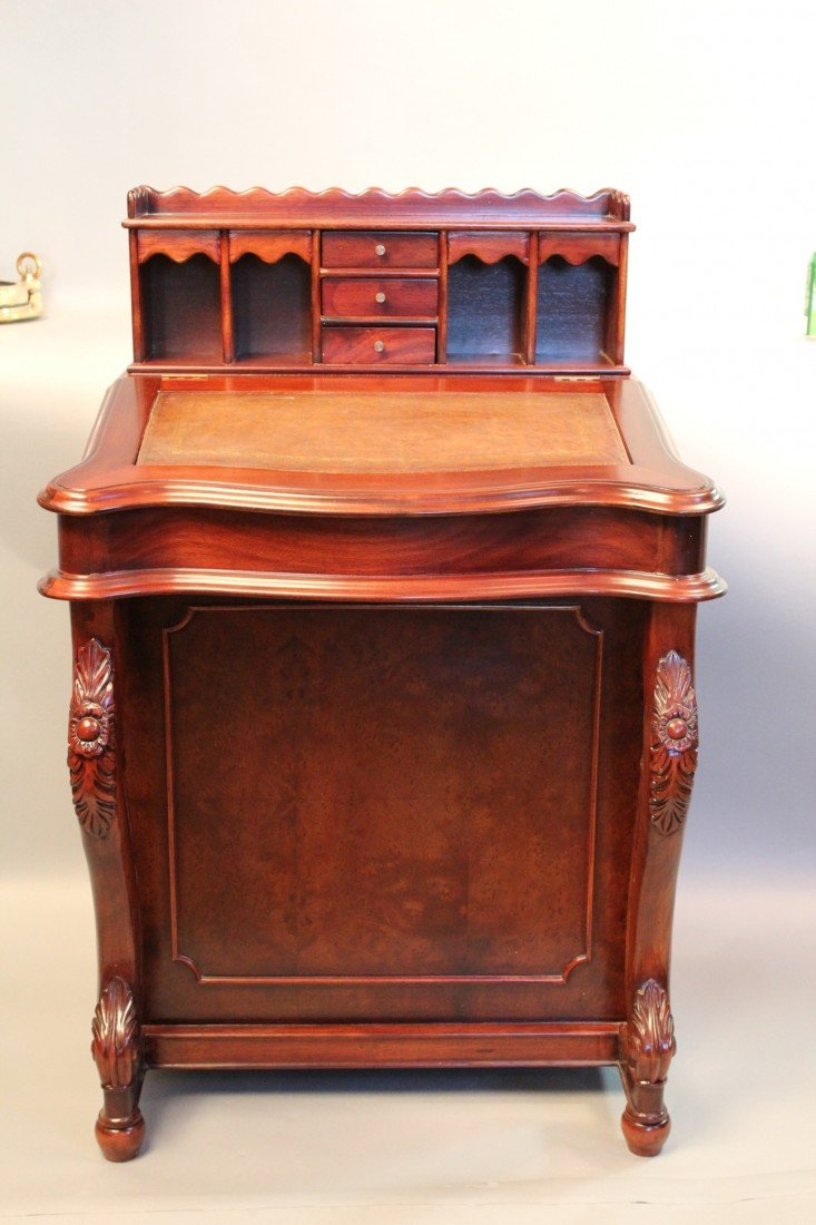 9: Rosewood Davenport Desk