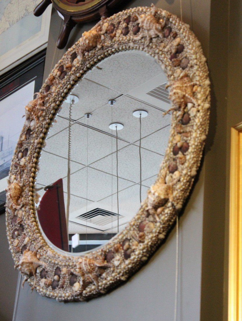 21: Large Shell Mirror