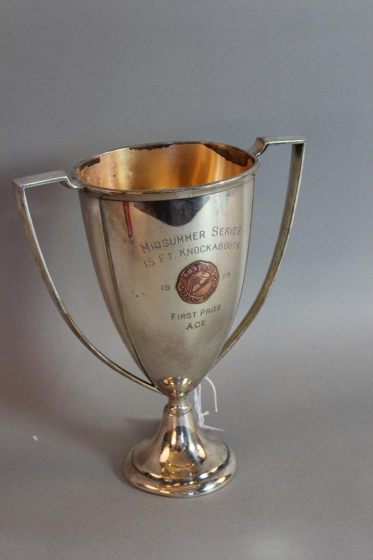 22: 1925 Duxbury Yacht Club Trophy