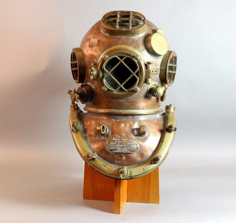 180: Schrader, Mark V, Diving Helmet