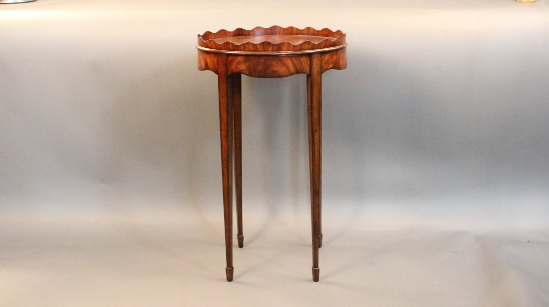 5: Mahogany side table