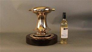 175A: Brass Herreshoff Anchor capstan