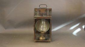 19th century Peter Gray & Sons lantern