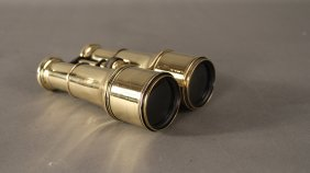 Yachting binoculars by Lemaire, Paris