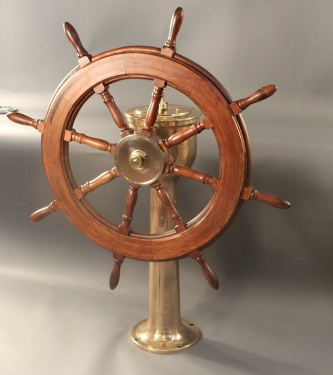 Ship S Steering Station Lot 252