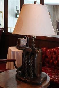 Nautical table lamp