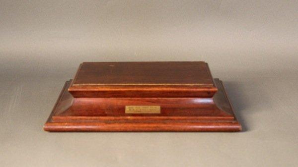 Timber box of R.M.S.Columba