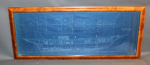 Original blueprint from 1929
