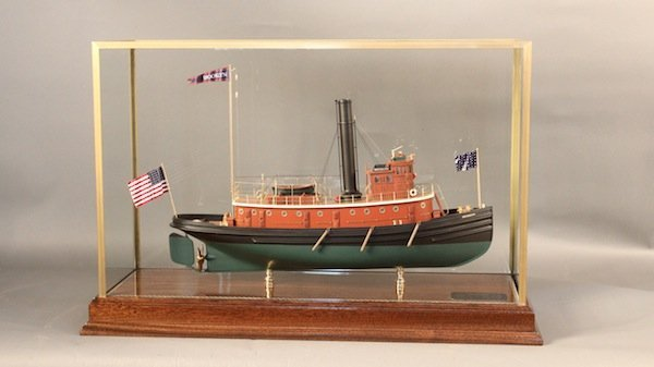 "Tug boat model of New York Harbor tug ""Brooklyn"""