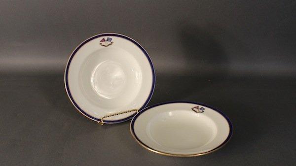 Two, N.Y.Y.C. Flagship dishes c.1897