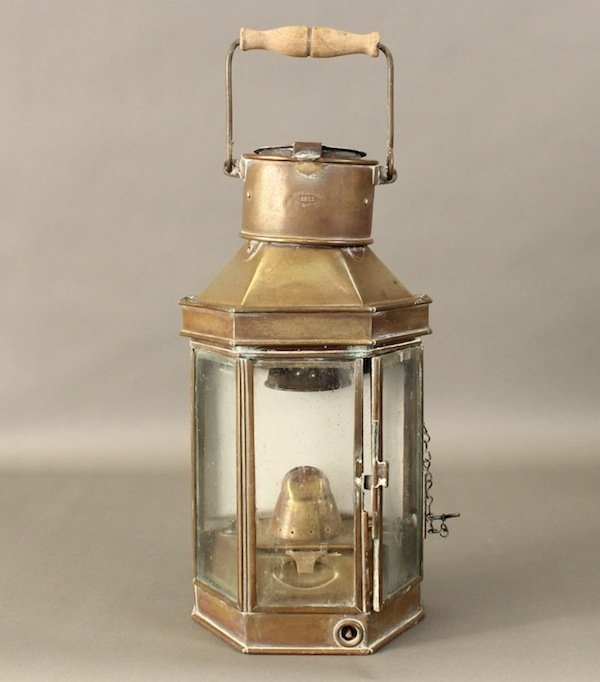Bulpitt cabin lantern from 1911