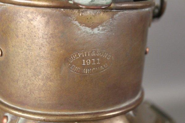 Bulpitt cabin lantern from 1911 - 2