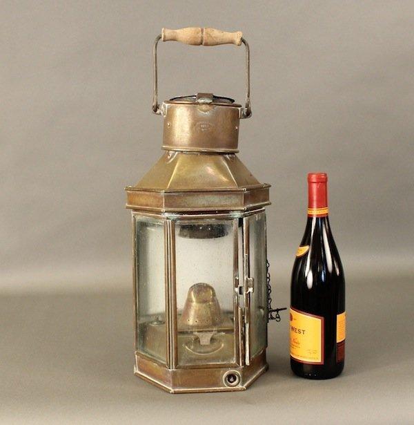 Bulpitt cabin lantern from 1911 - 3