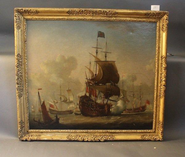 Isaac Sailmaker oil on canvas