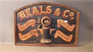 Nautical trade sign