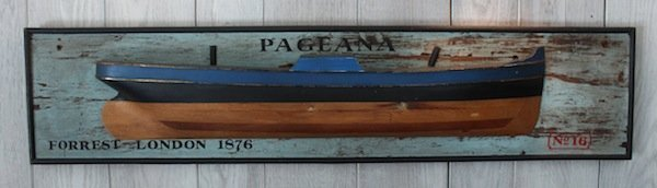 "Half model of the ""Pageana"""