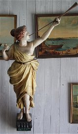 Nicely carved ship's figurehead