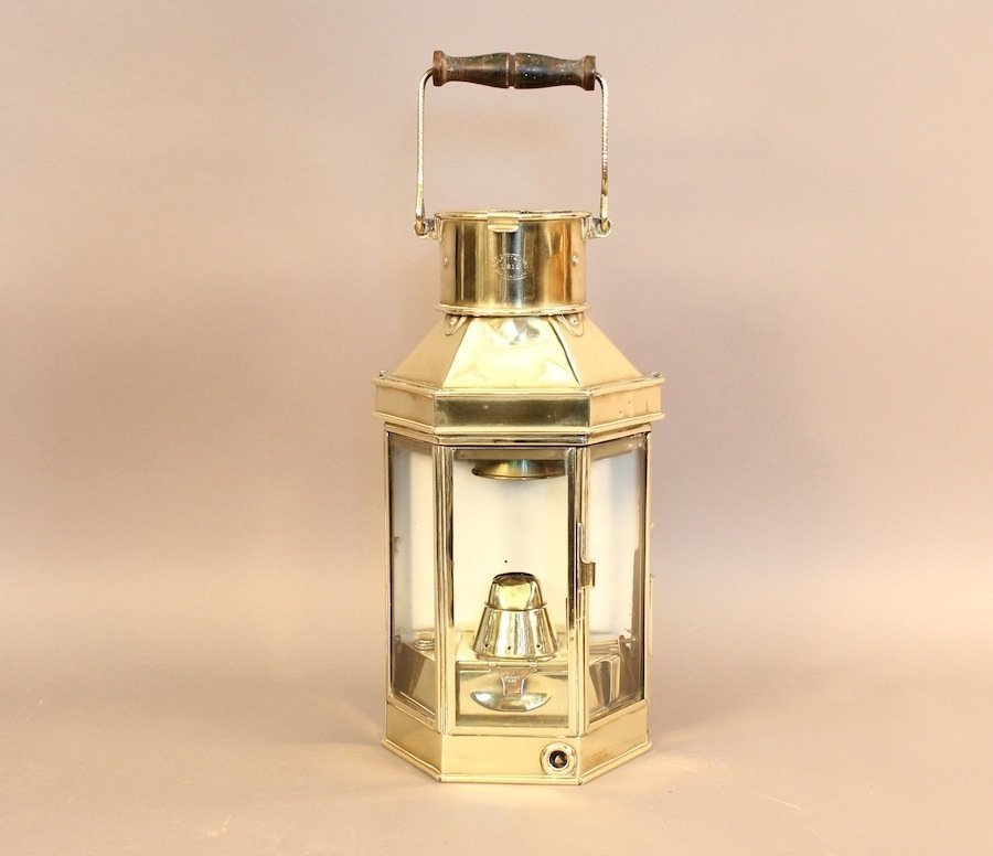 Bulpitt solid brass cabin lantern