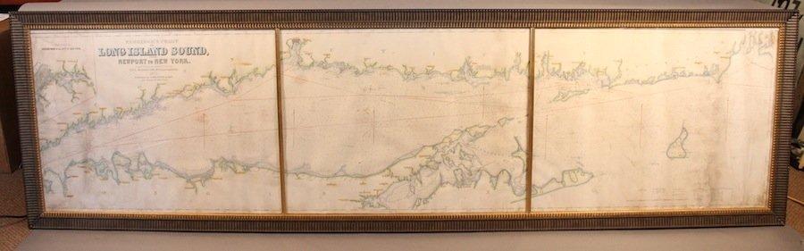 Eldridge chart of Long Island Sound