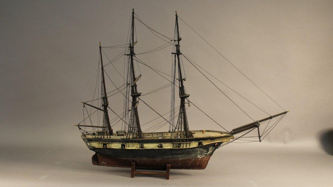 Nineteenth Century Warship Model