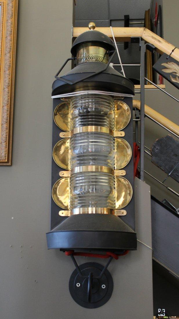 Three tier railroad lantern