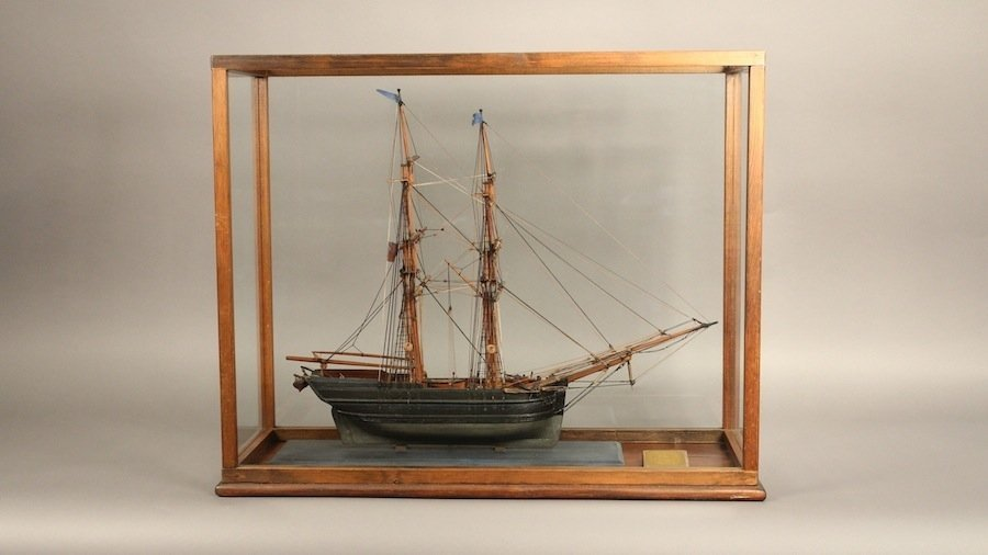 19th century model of the Star of Dover