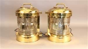 Perko Brass Masthead Lanterns