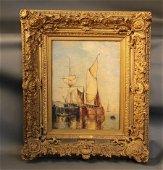 New York Yacht Club/J.P. Morgan Painting