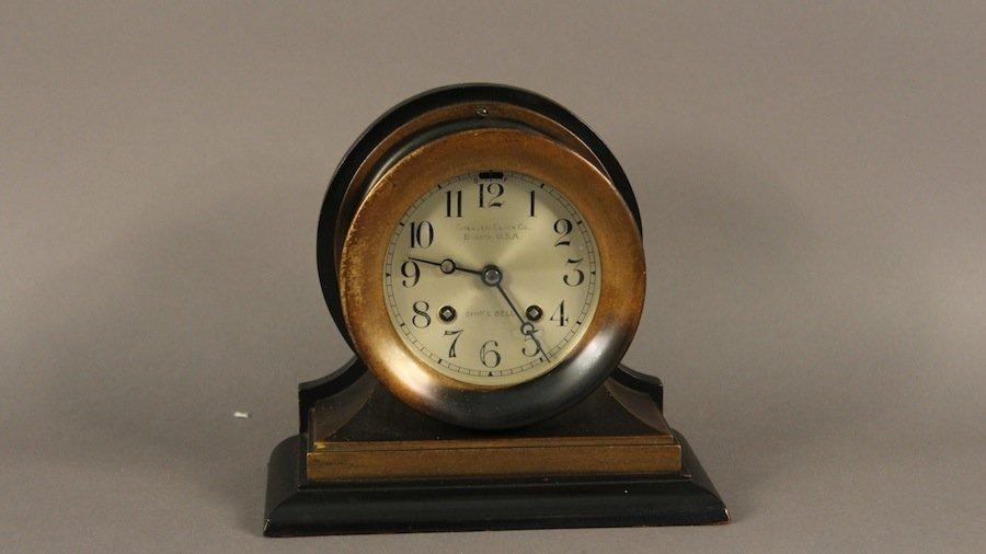 """4"""" Antique Chelsea Clock"""
