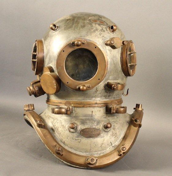 Morse diving helmet Philadelphia police