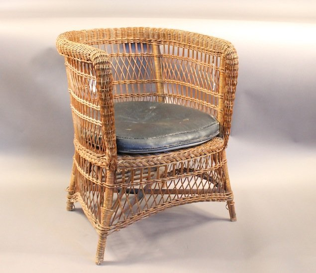 Early 20th Century Yachting Chair