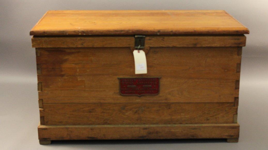 US Navy Morse Diving Apparatus Box.