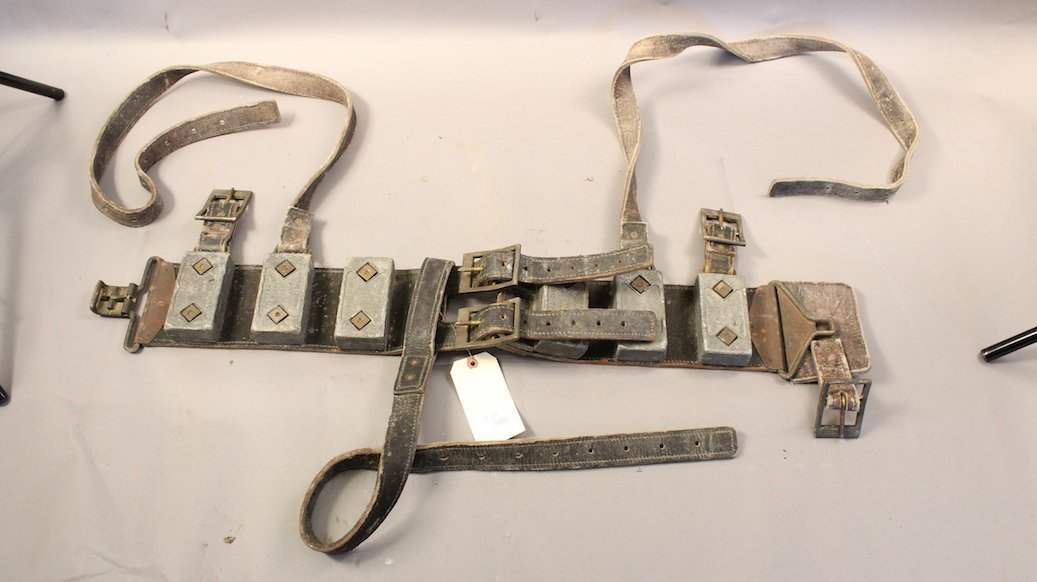 A.J. Morse Leather Dive Belt