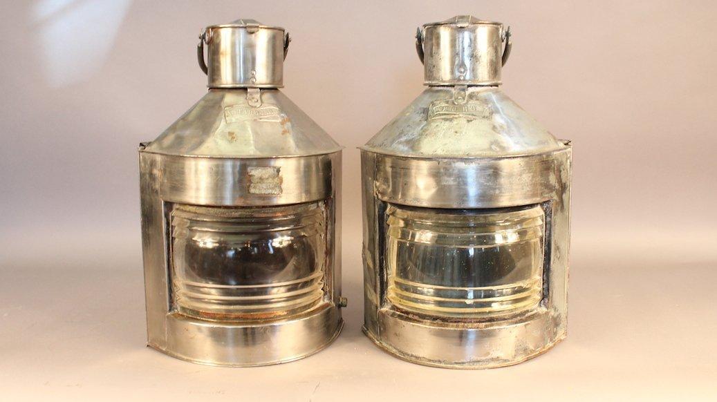 Steel Port and Starboard Lanterns
