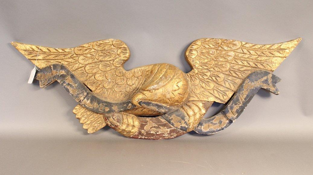 Large Carved American Eagle