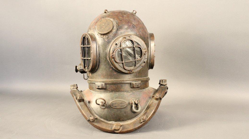 A.J. Morse 12 Bolt Diving Helmet