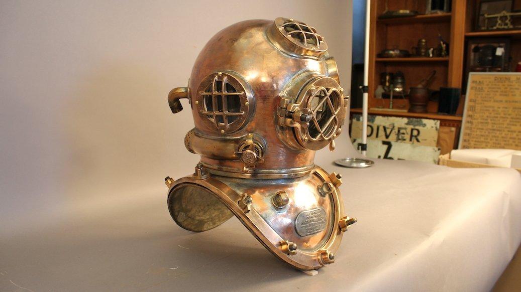 Miller Dunn Mark V Dive Helmet - 5