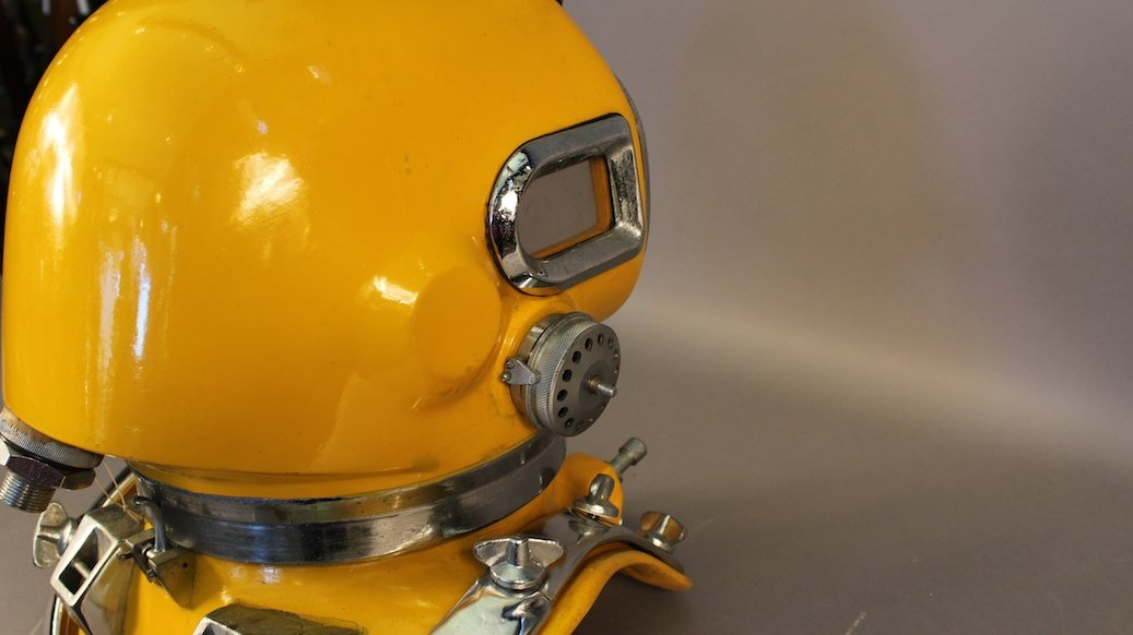 Drager Style DIVING HELMET TF88 - 8
