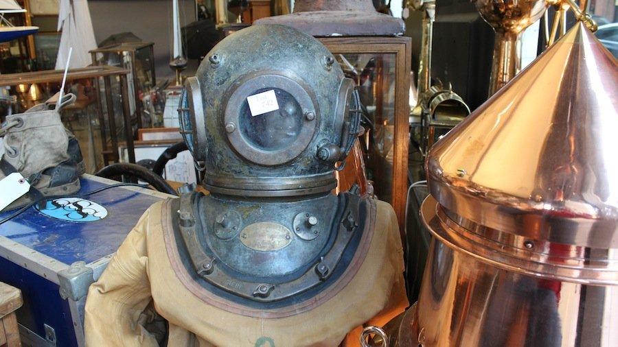 Siebe Gorman Commercial Diving Helmet - 2