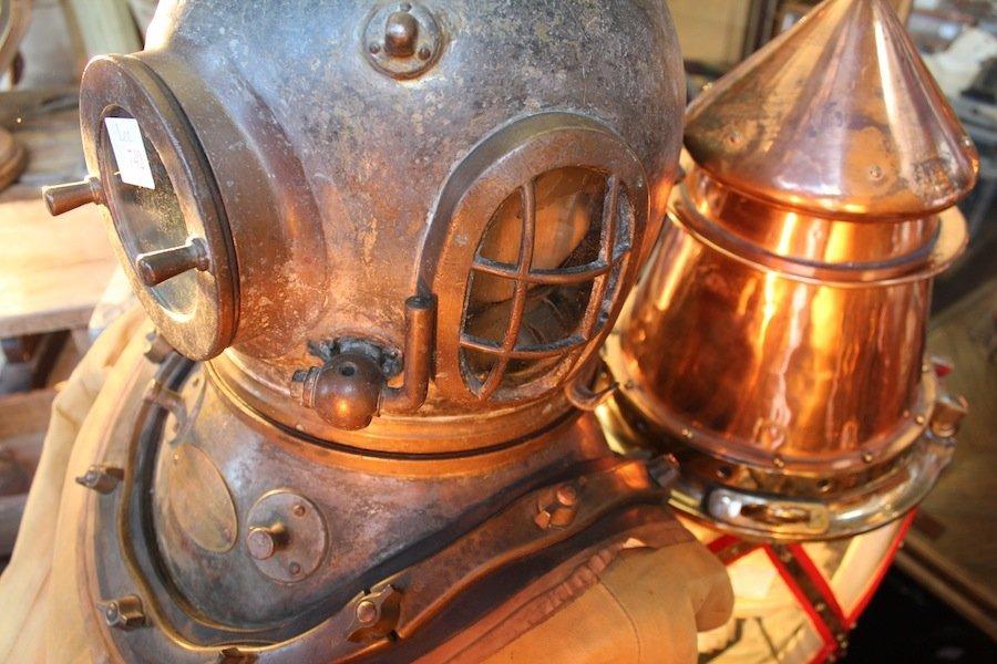 Siebe Gorman Commercial Diving Helmet - 6