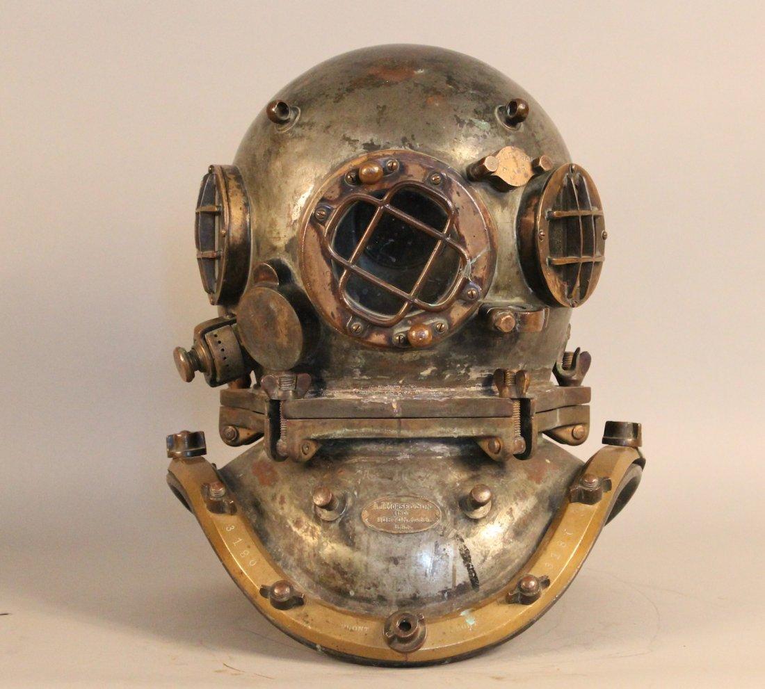 A.J. Morse & Son Continental helmet
