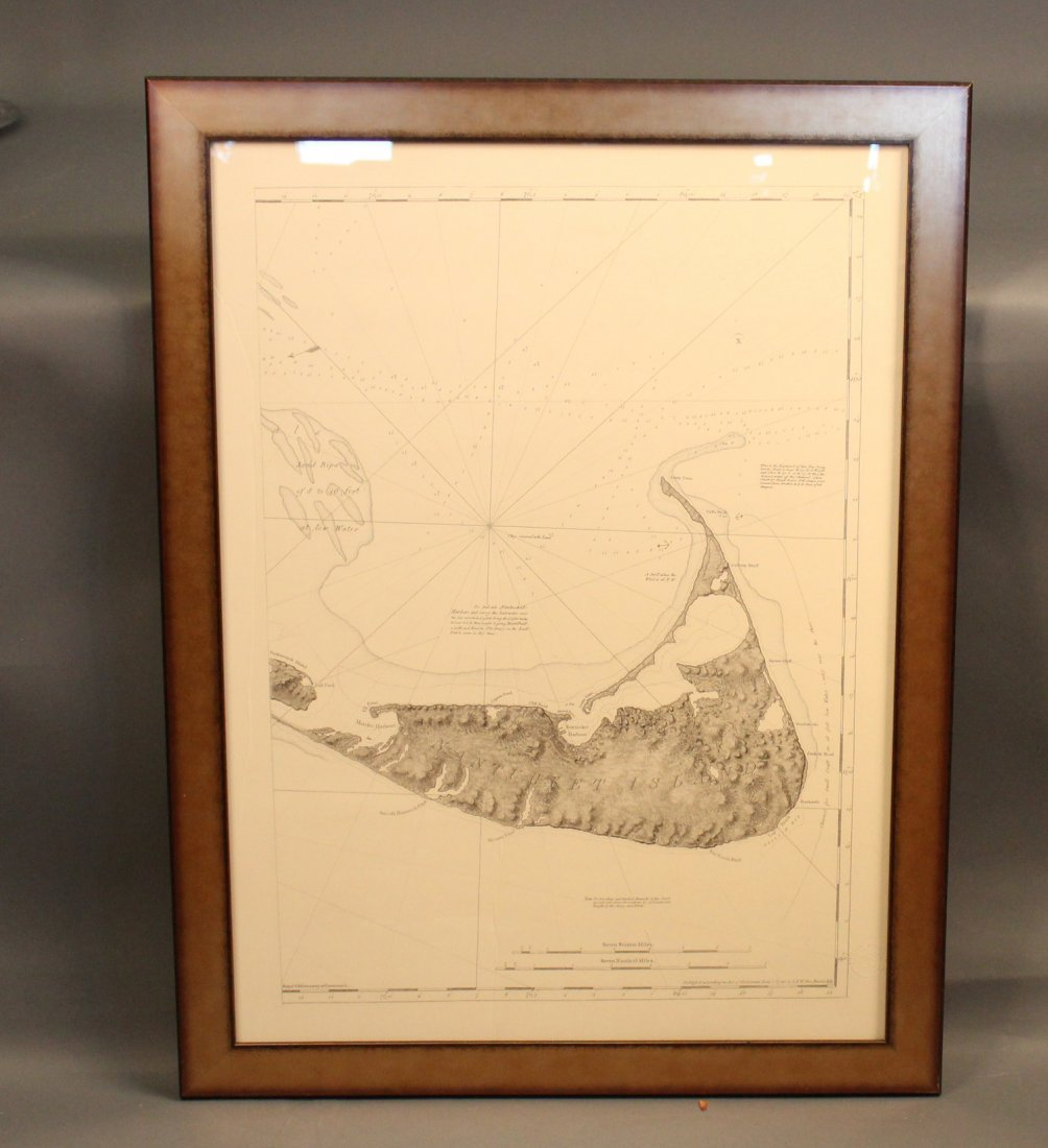 American Neptune chart of Nantucket