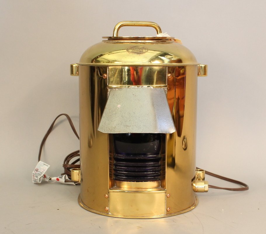Perko World War II ship's convoy lantern