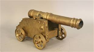 Solid brass signal cannon