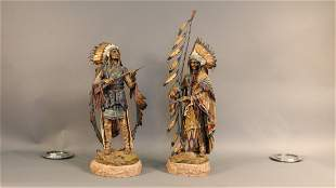 C Kanuba bronzes; War and Peace