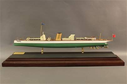 Steam Yacht Model of Turbinia by Hitchcock