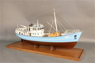 Planked Model of Norwegian Vessel Nordkap