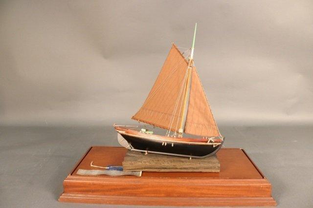 Cargo Vessel Ship Model from Stockholm