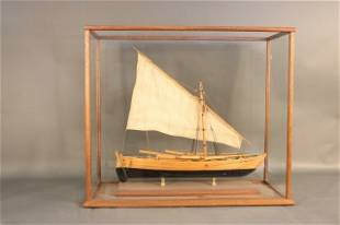 Planked Model of a Shore Launched Whaleboat